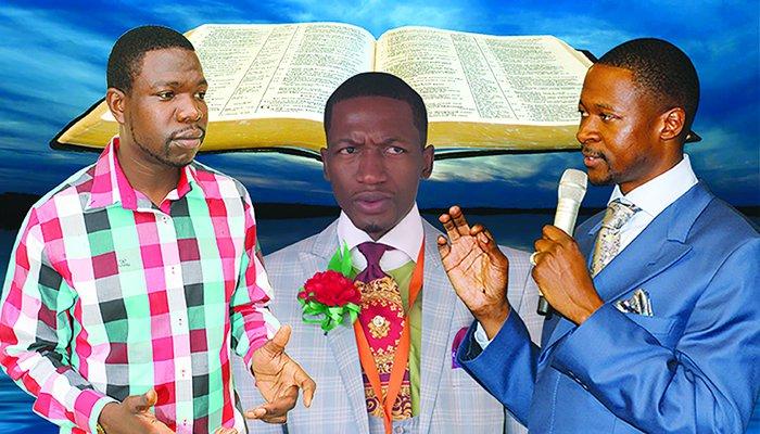 From left: Prophet Walter Magaya, Uebert Angel and Emmanuel Makandiwa. Image Credit-nehandaradio