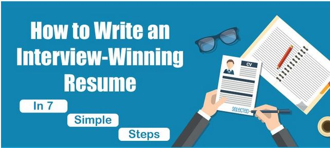 Write a Winning CV in 7 Simple Steps [Infographic]