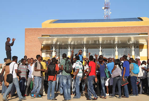 NO SHOW FOR NUST STUDENTS BUS DEMO