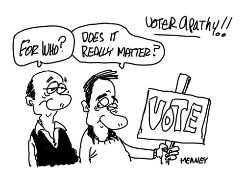LIFE HACK:  VOTER APATHY & WHY IT IS A PROBLEM