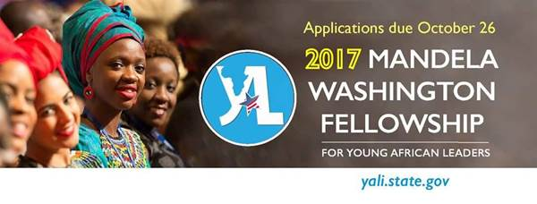 2017 MANDELA WASHINGTON FELLOWSHIP