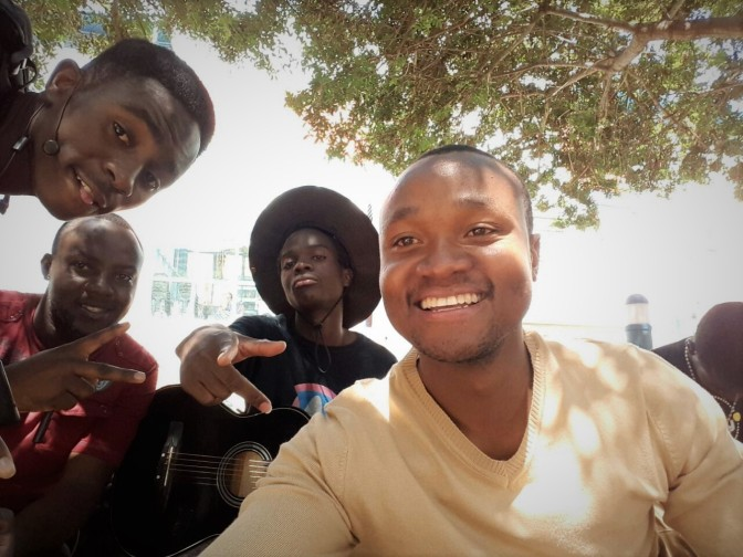 STUDENT RECORDS AN ALBUM AFTER A SPLENDID PERFORMANCE AT 22nd NUST GRADUATION CEREMONY