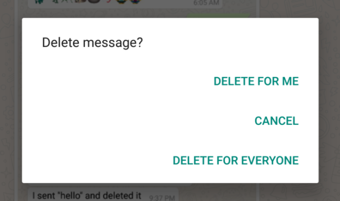 WhatsApp rolls out 'Delete for Everyone' feature; here's how it works