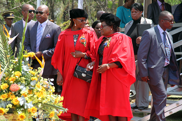 Revoke Grace Mugabe PHD: Student Body