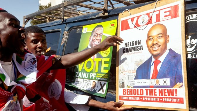 Zimbabwe election: Troops fire on MDC Alliance supporters