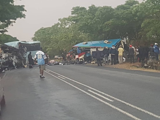 47 people killed in Rusape horror bus accident: Pictures (Too Graphic!)