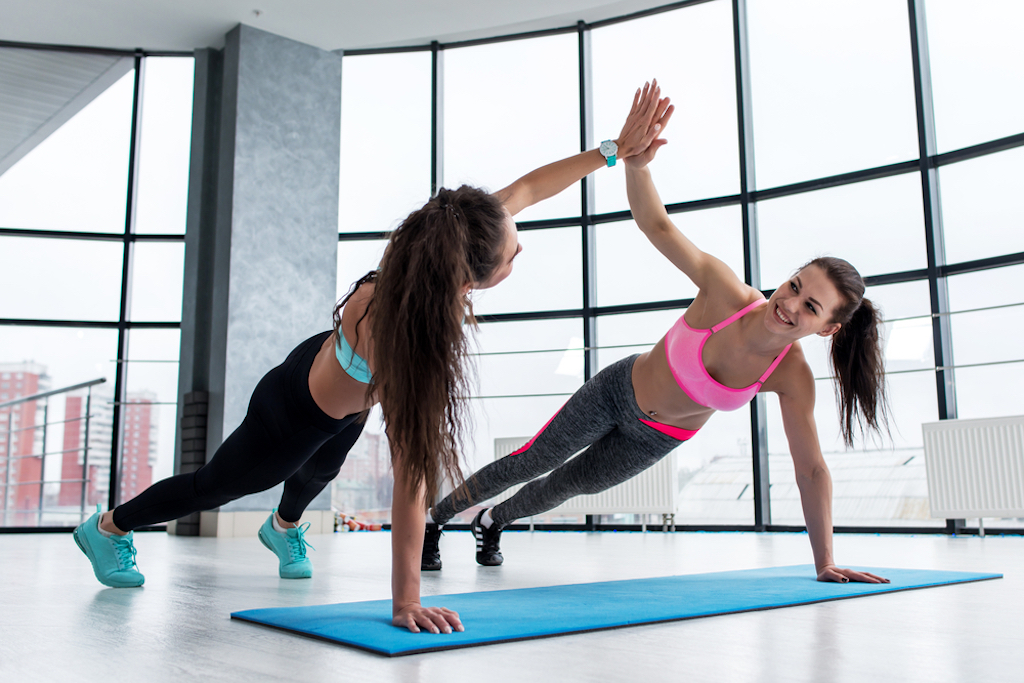 7 Workouts You Can Do With Your Partner At Home